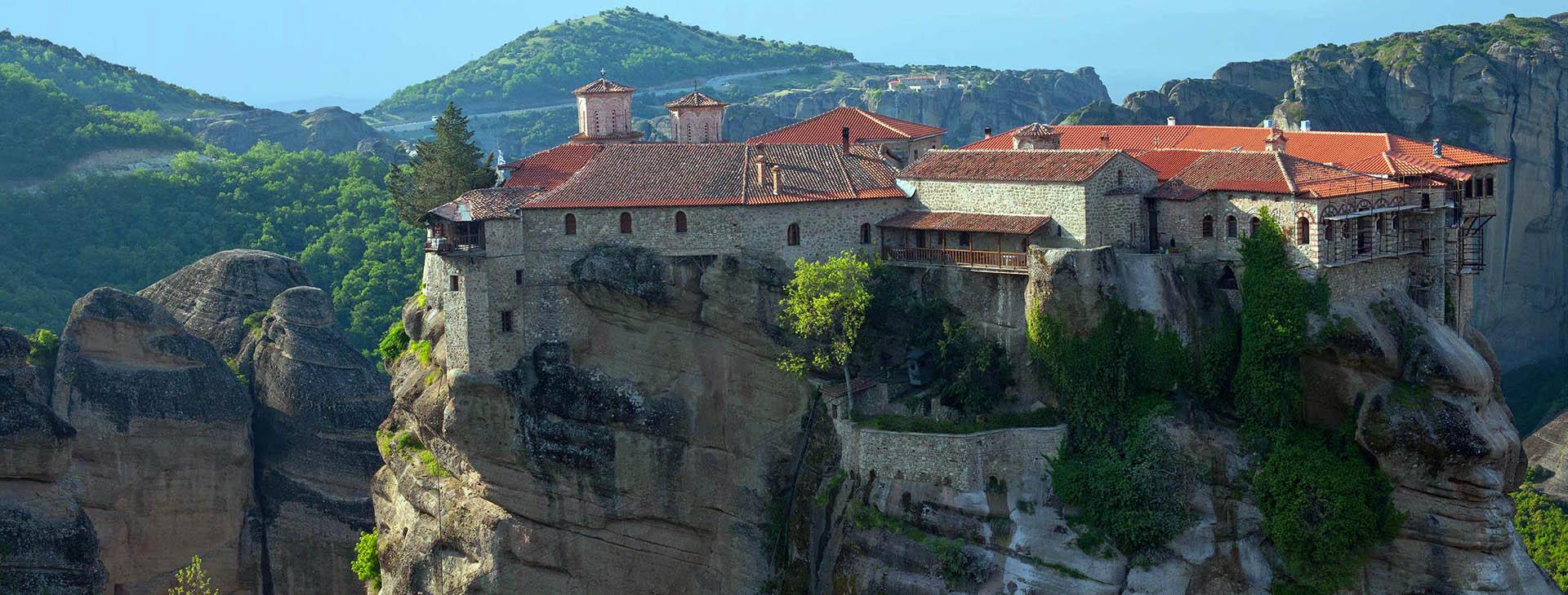 Varlaam Monastery at Metéora, Trikala