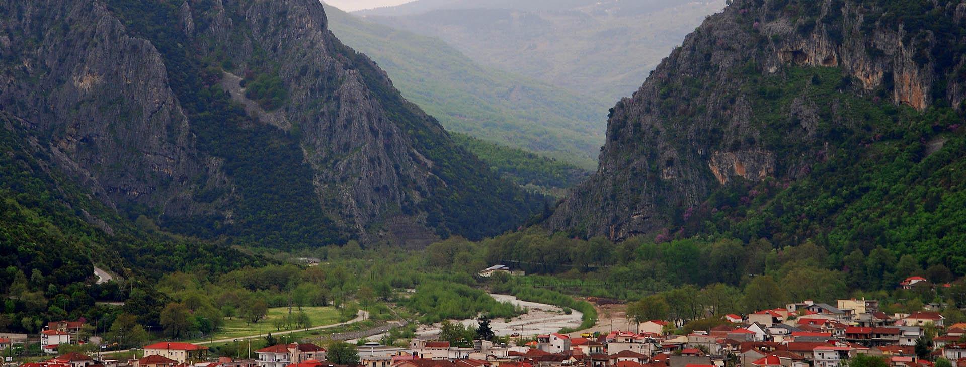 Mouzaki village, Karditsa