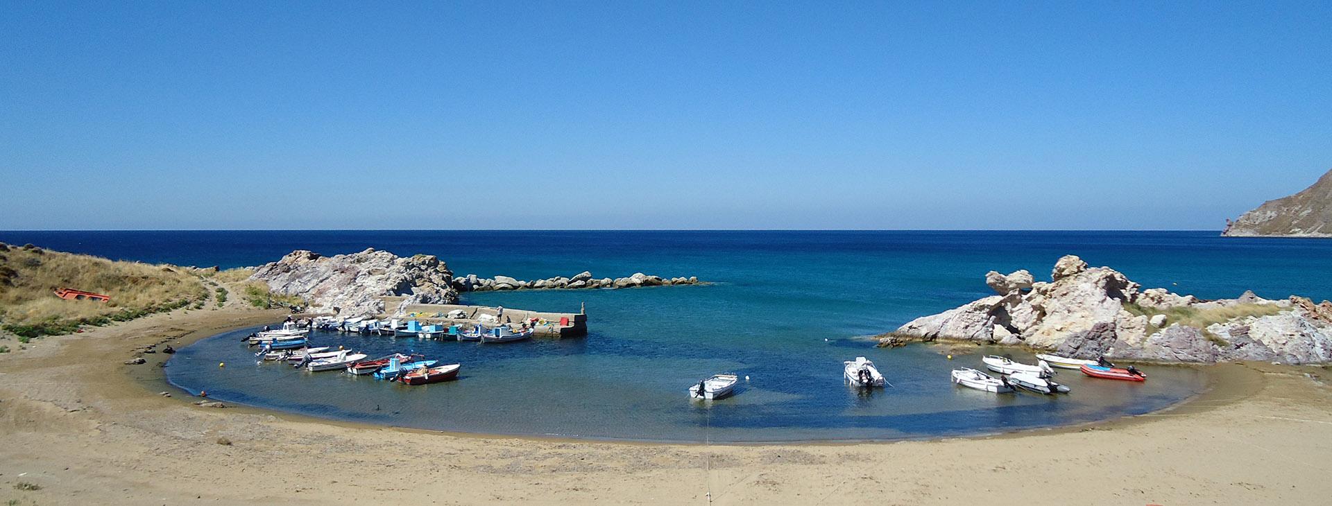 Agios Ioannis beach, Limnos island