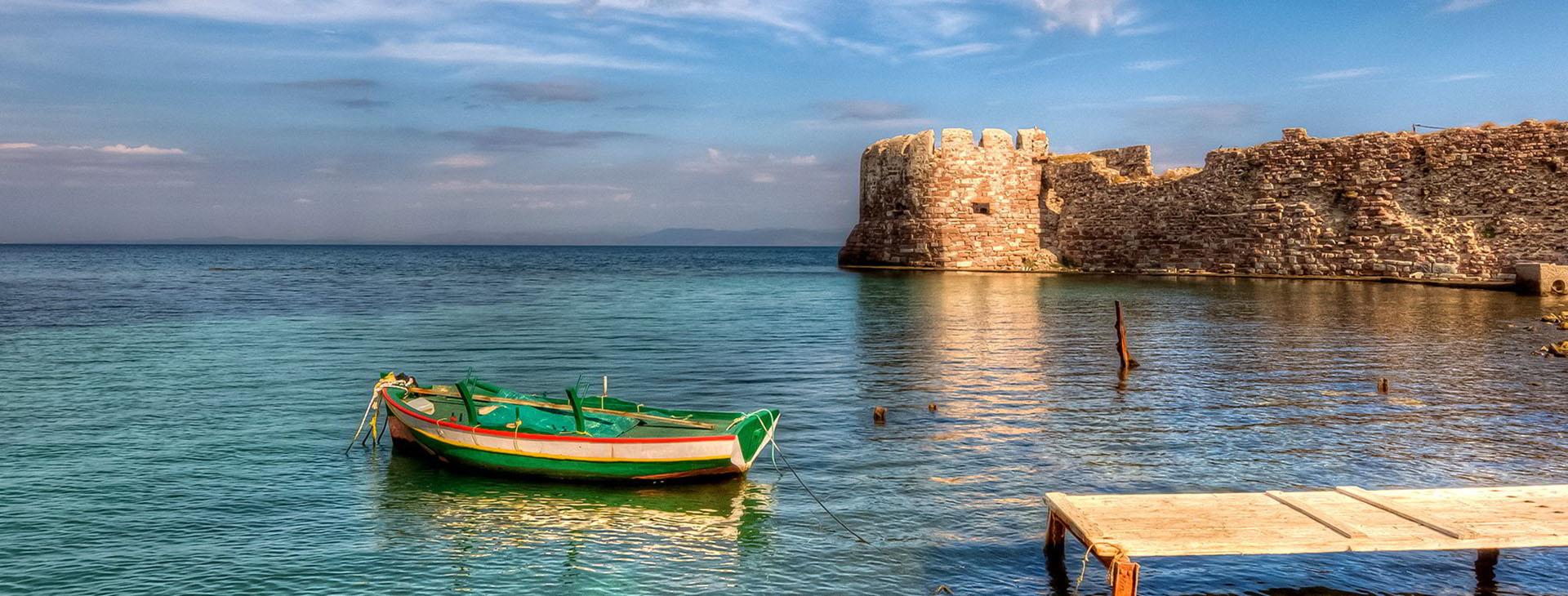 Caste of Lesvos, Mytilene, Lesvos island