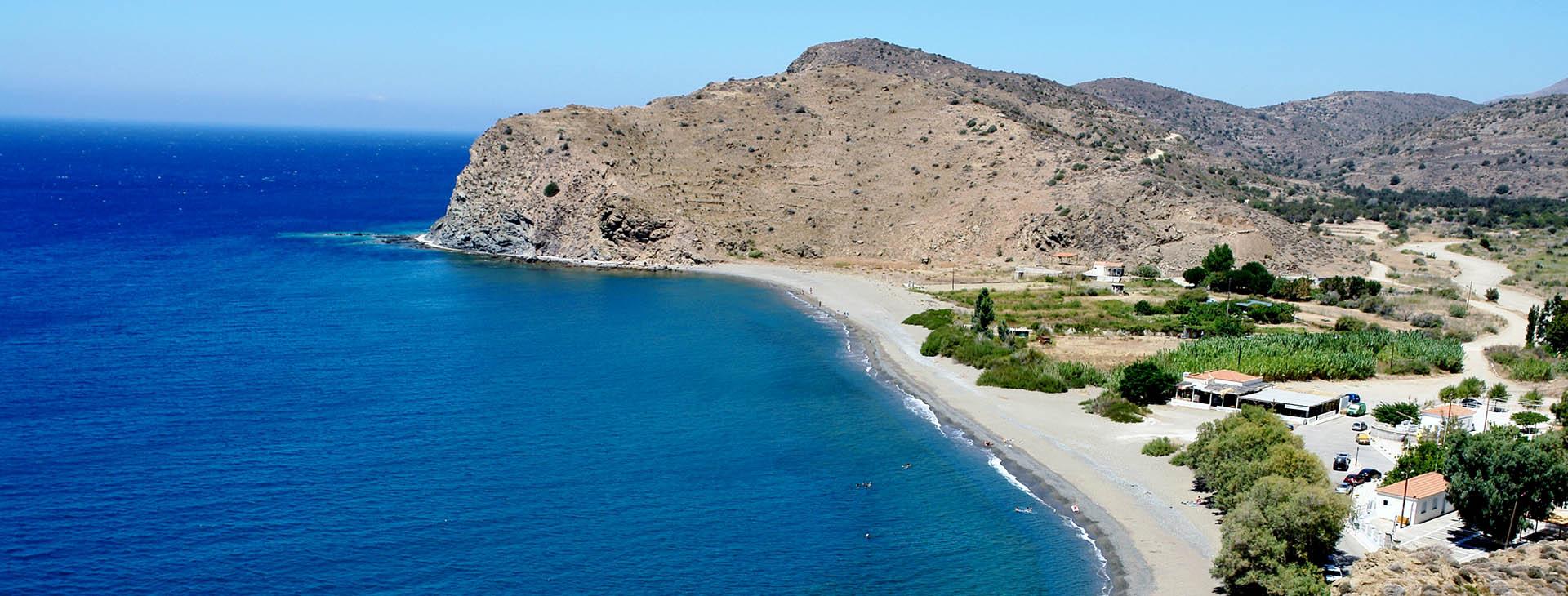 Marcella beach, Chios island