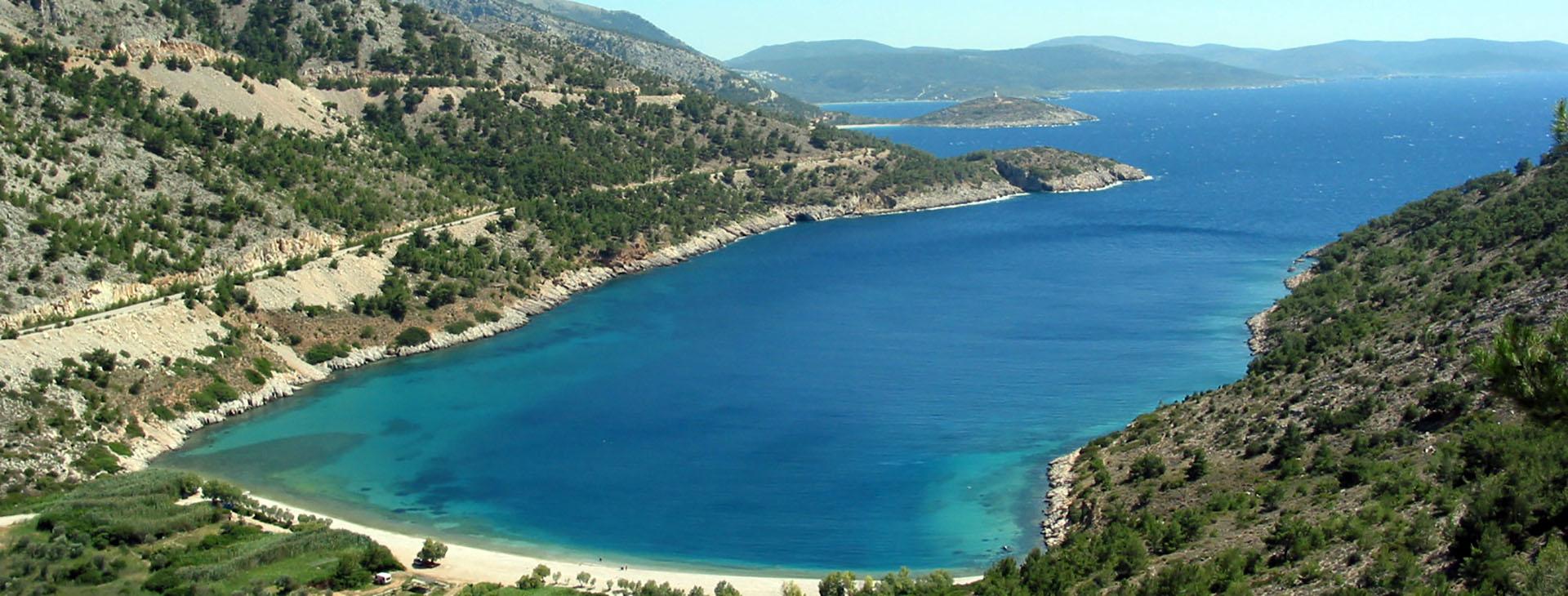 Elinda beach, Chios island