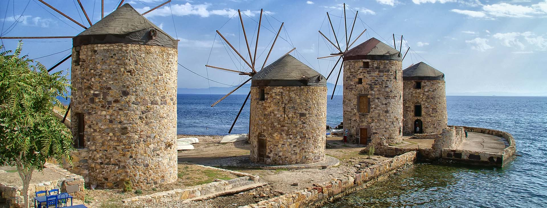 Windmills, Chios island