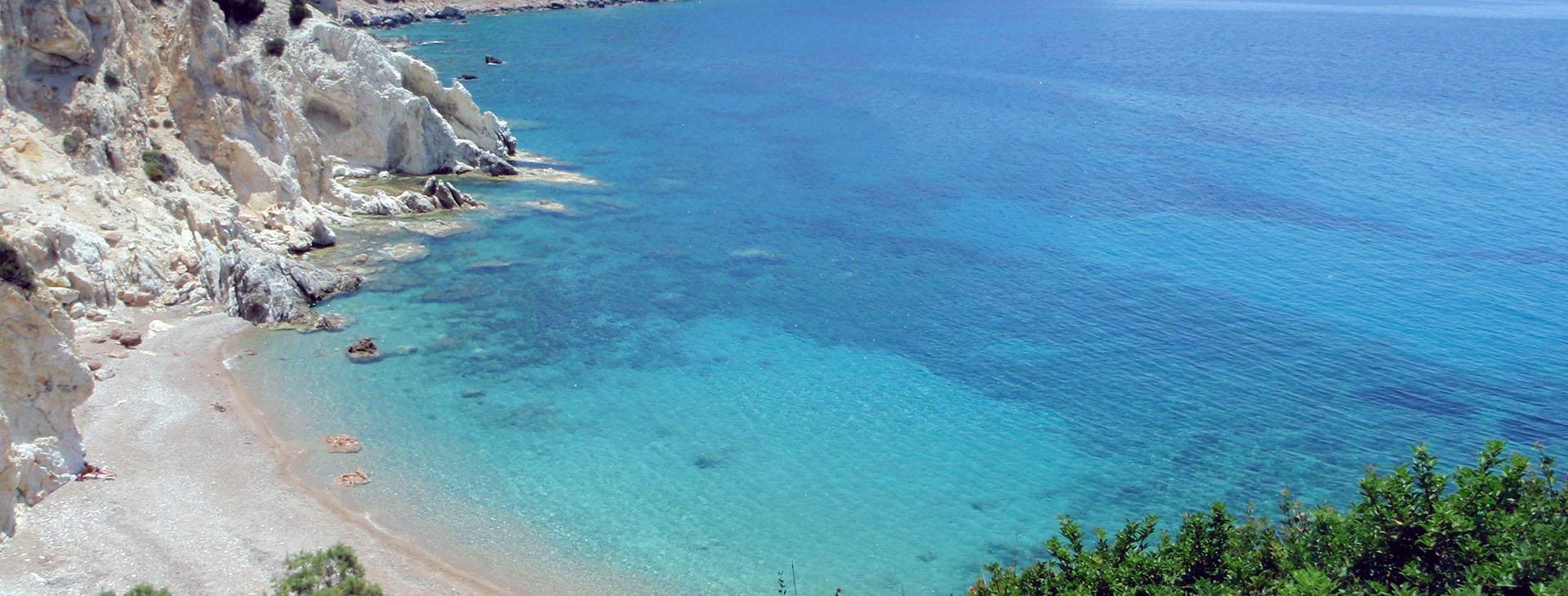 Vroulidia beach, Chios island