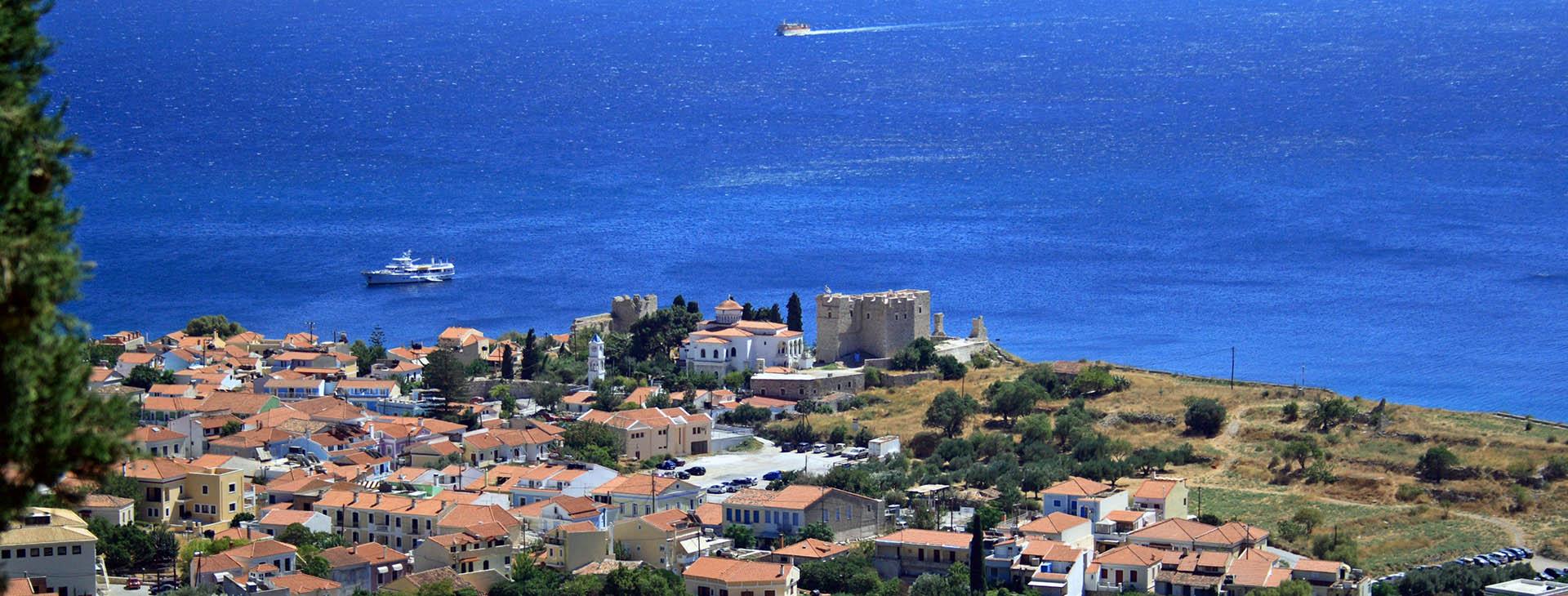 Samos island