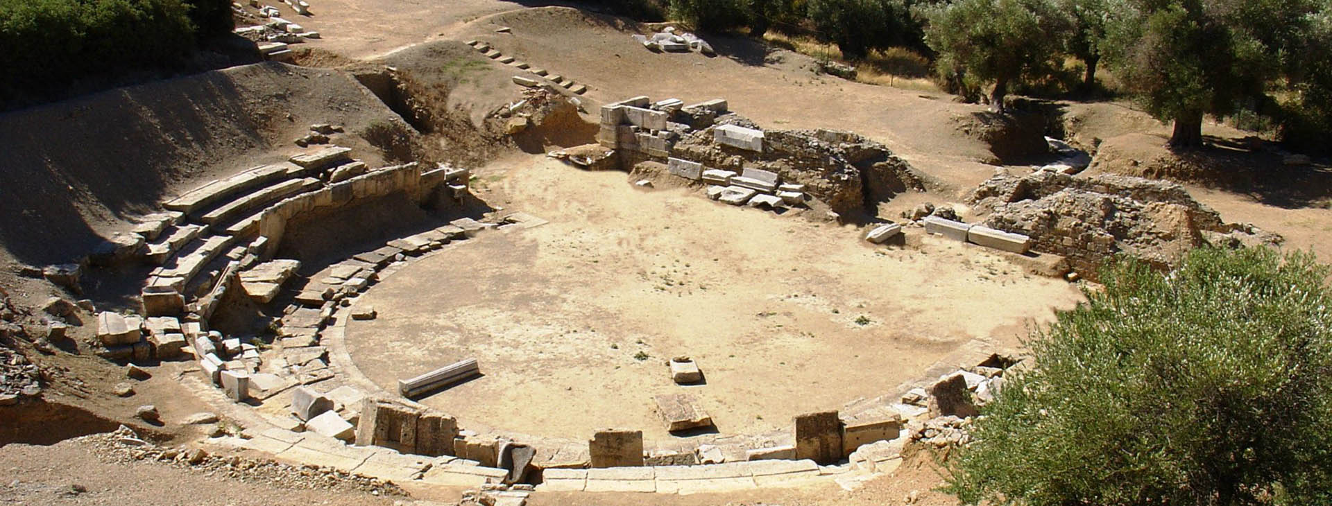 Ancient theatre of Maronia, Rodopi