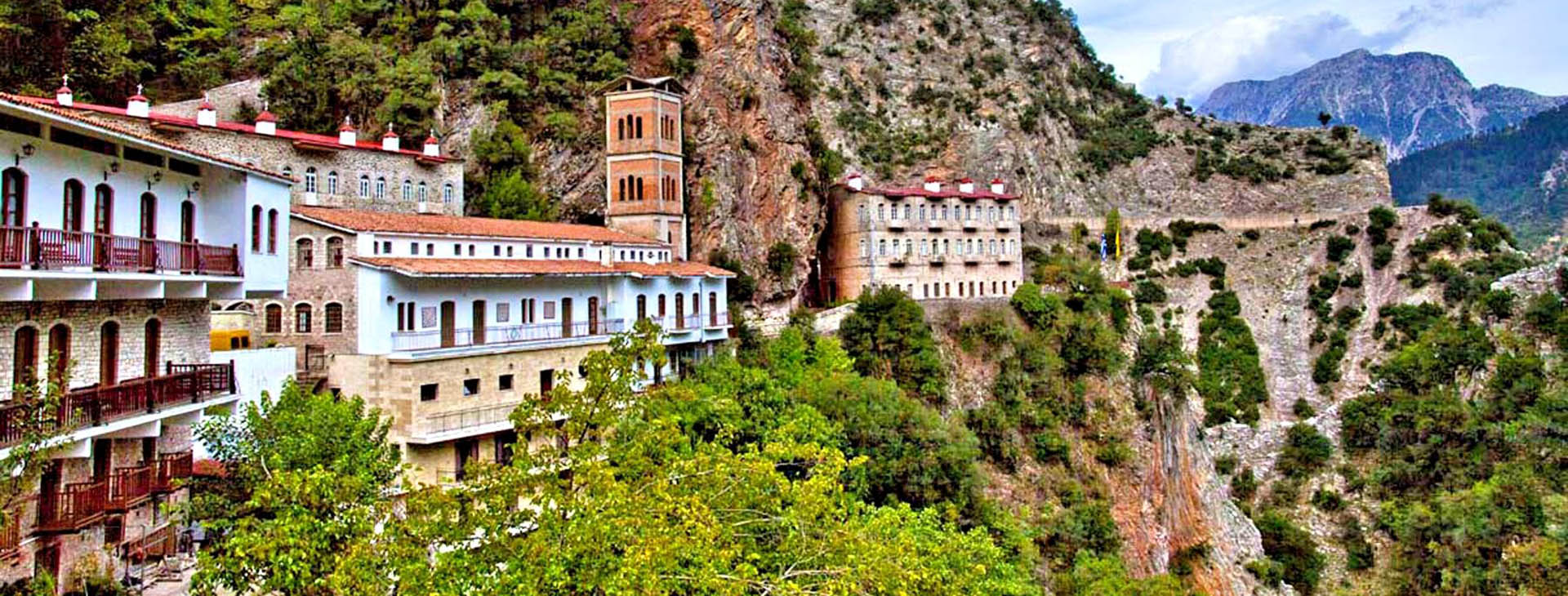 Monastery of Proussos, Evritania