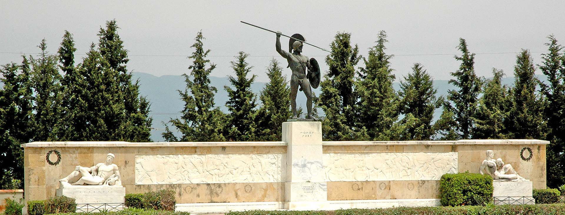 Battle of Thermopylae monument