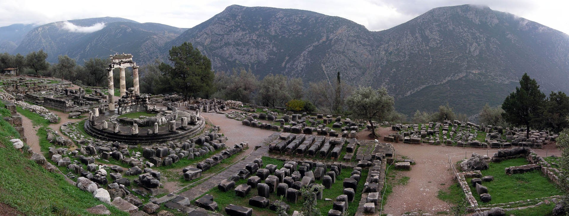 Delphi - Pronaia Sanctuary, , Fokis