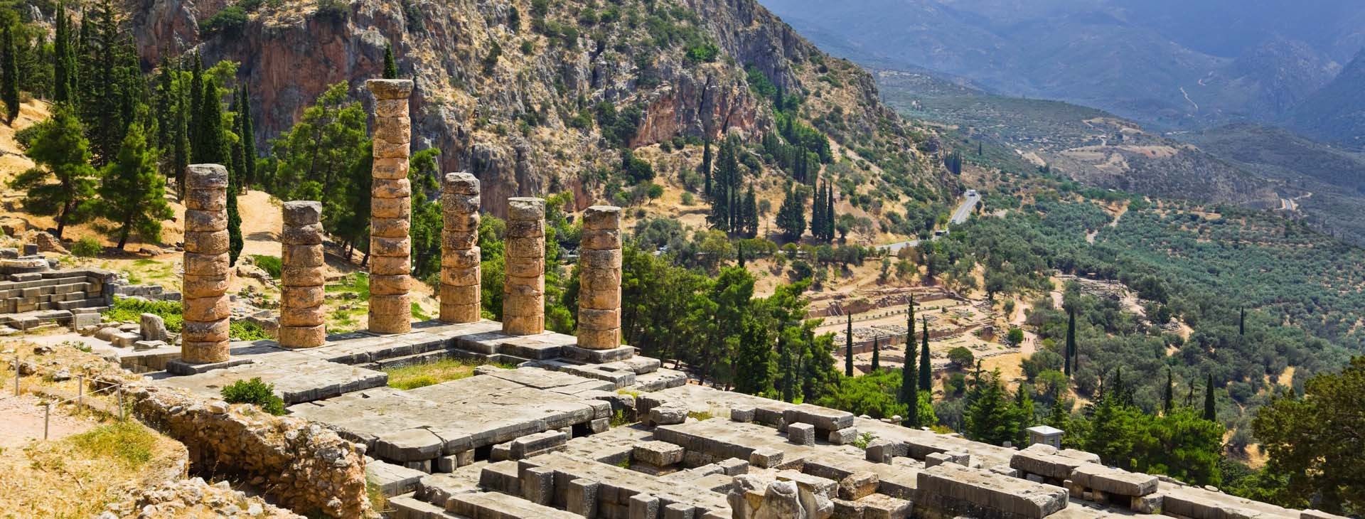 Delphi - Apollo Temple, Fokis