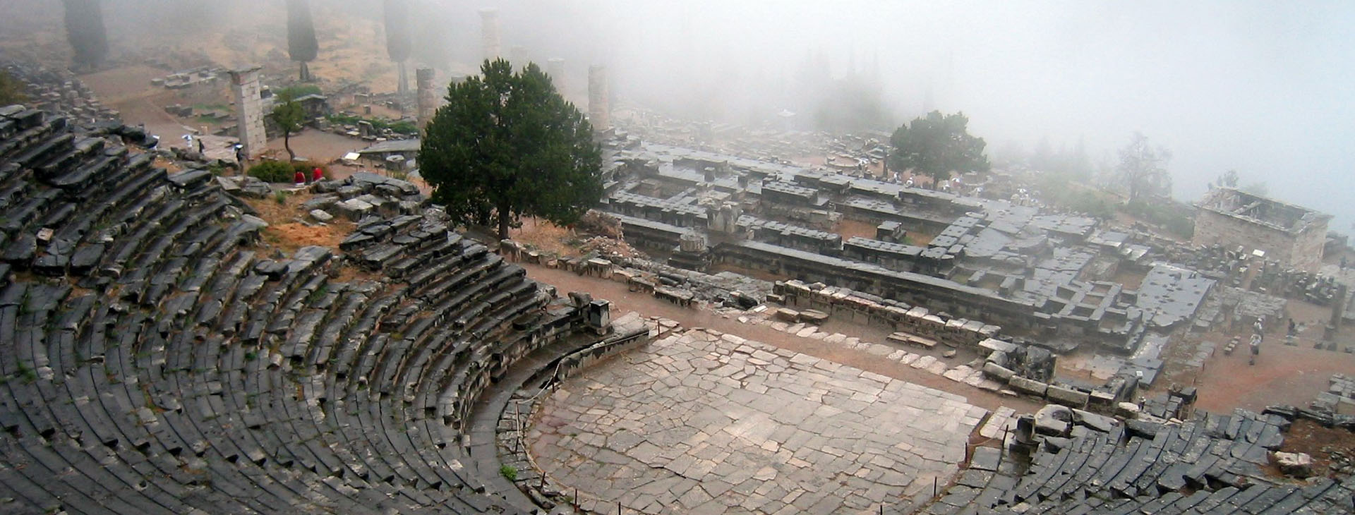 Delphi - Ancient Theatre & Apollo Temple, Fokis