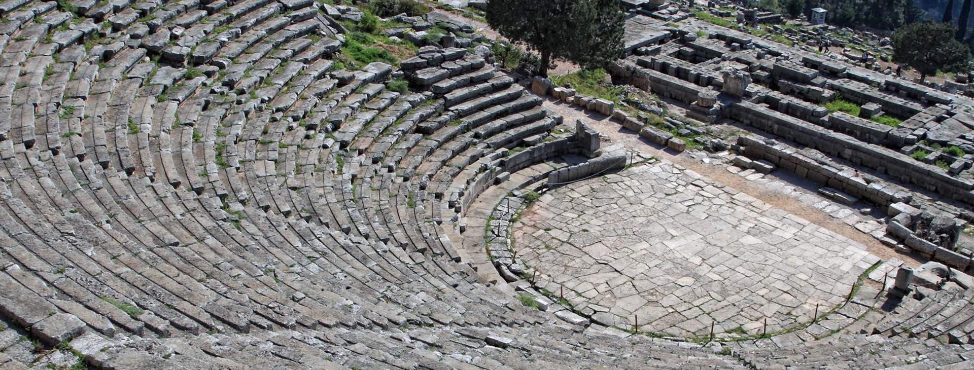 Delphi - Ancient Theatre, Fokis
