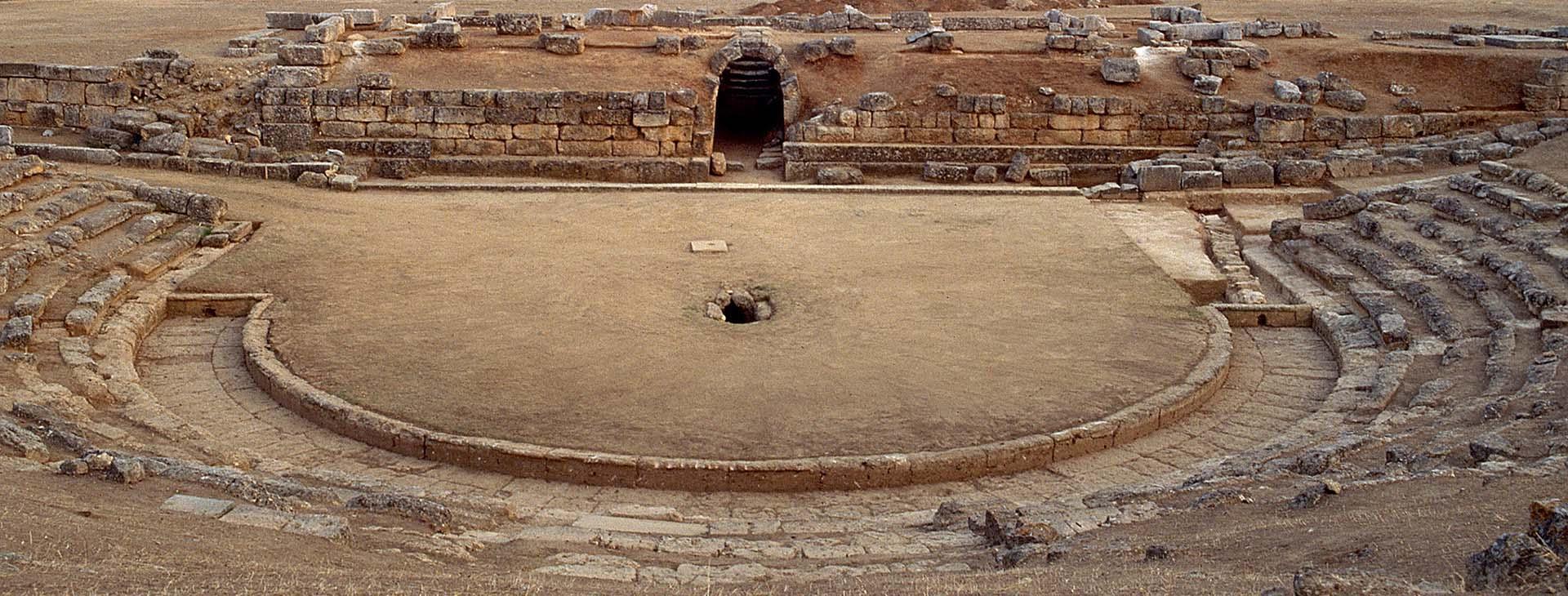 Archaeological Site of Eretria, Evia