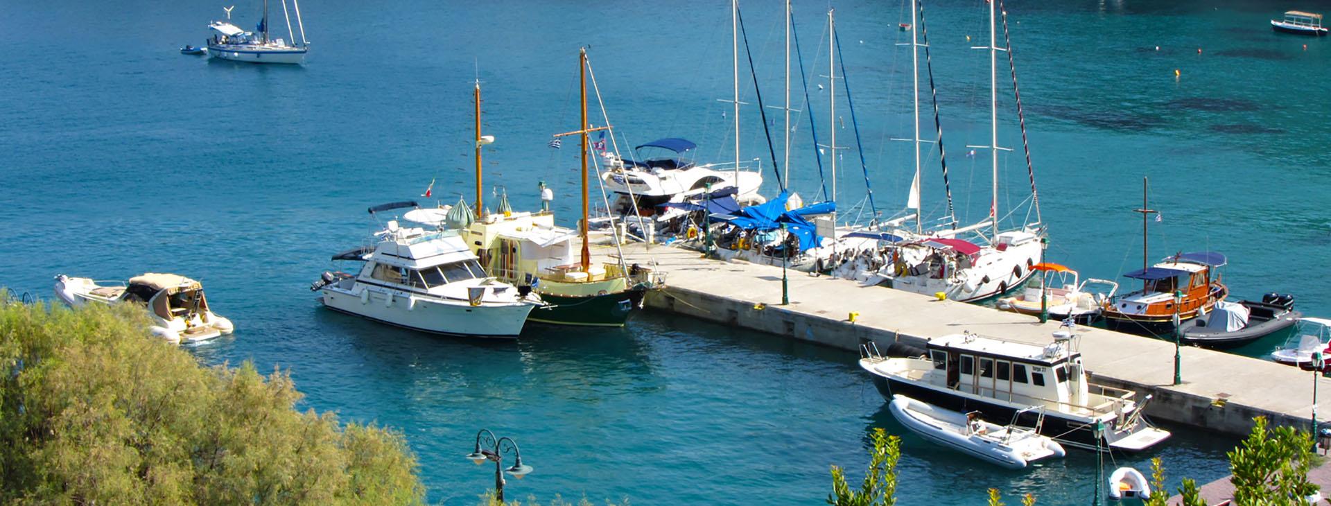 Patitiri harbour, Alonnissos