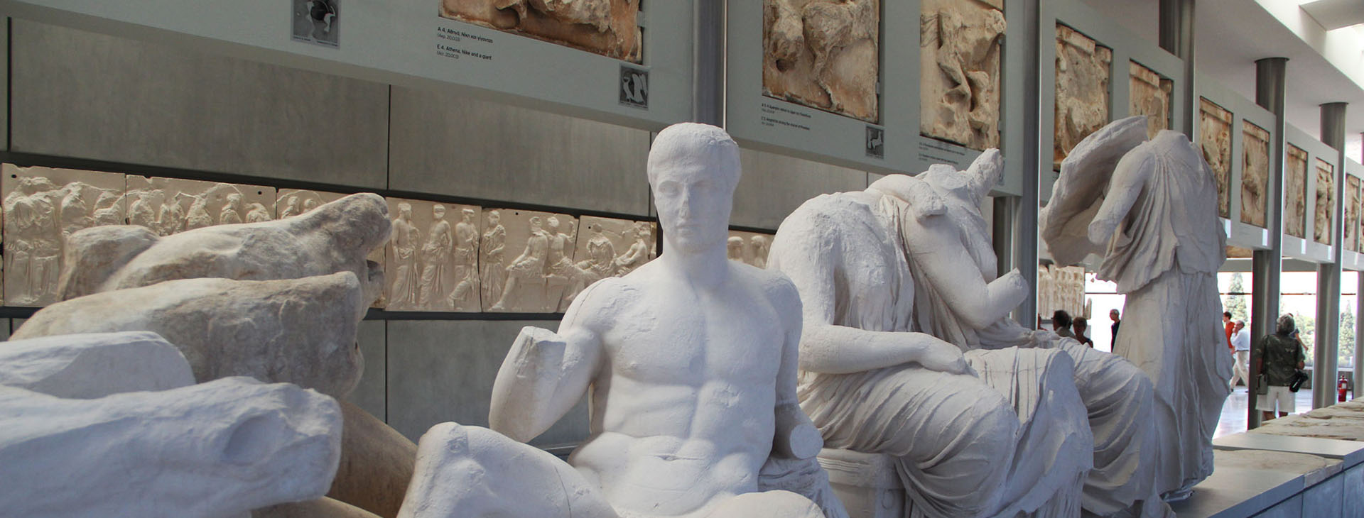 Statues in The Acropolis Museum, Athens