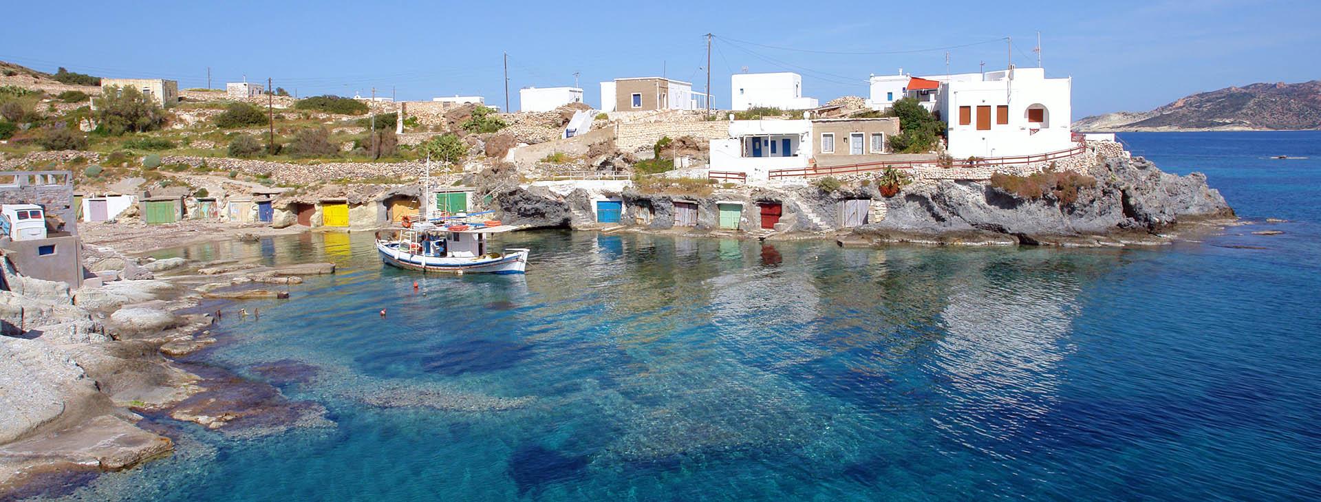 Goupa-Kara, Kimolos island