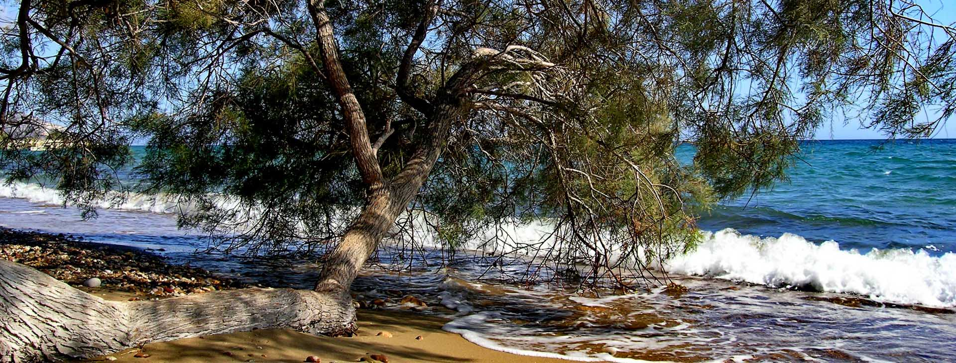 Aliki beach, Kimolos island