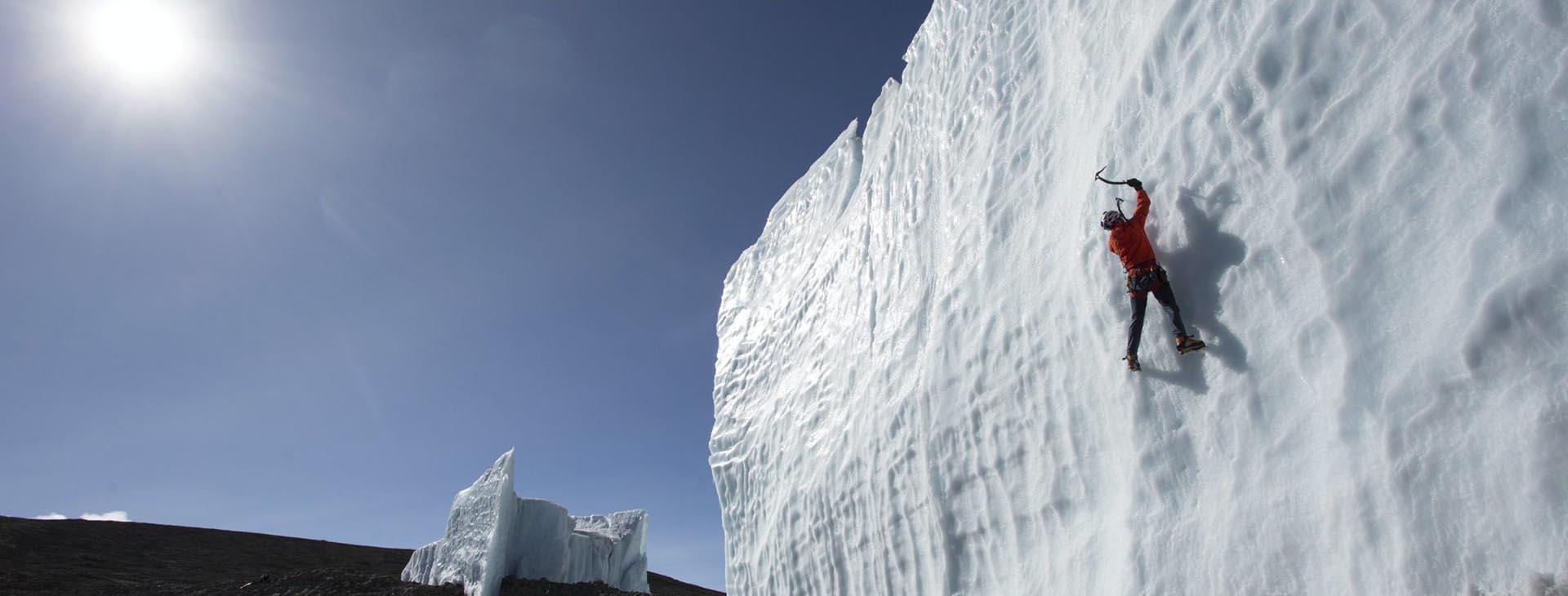 Ice-fall Climbing