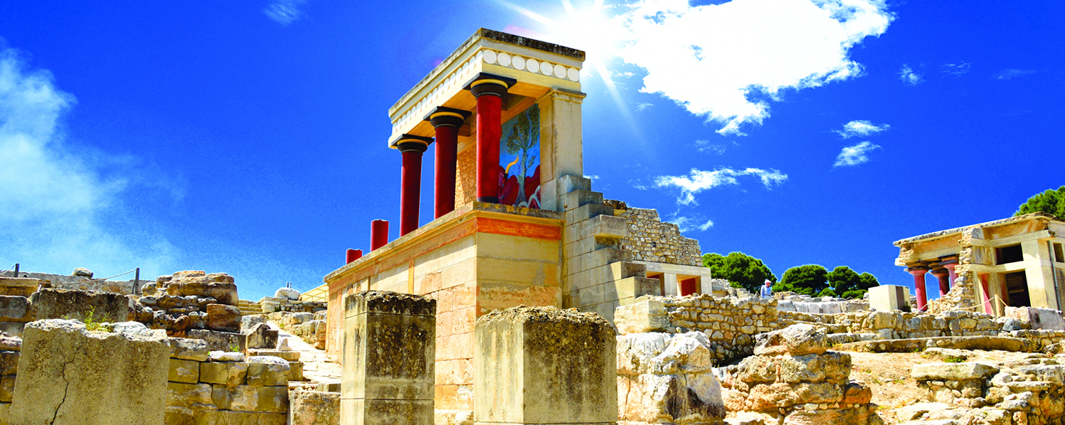 Knossos Archaeological Site - Minoan Magic