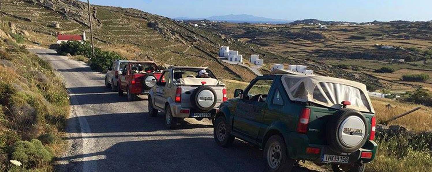 Off Road Jeep Safari from Mykonos