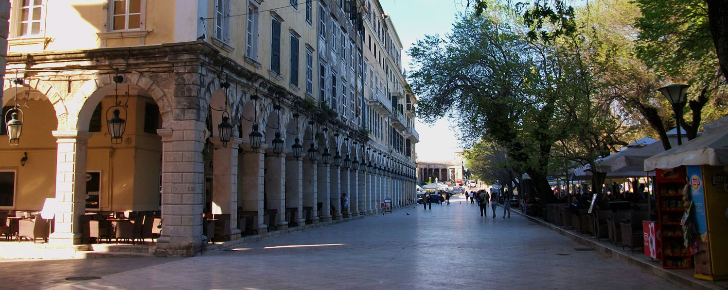 Corfu Shore Excursion: Medieval Corfu city tour