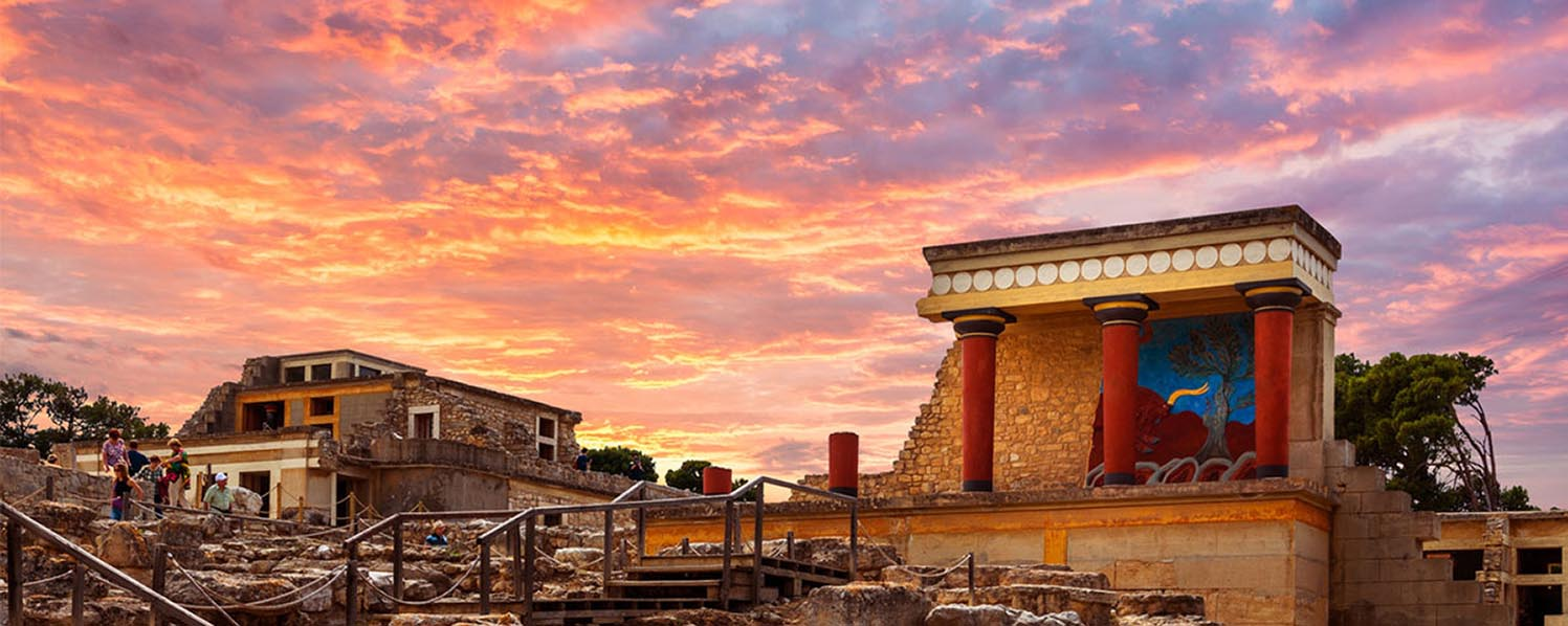 Knossos Archaeological Site - Minoan Magic from East Area