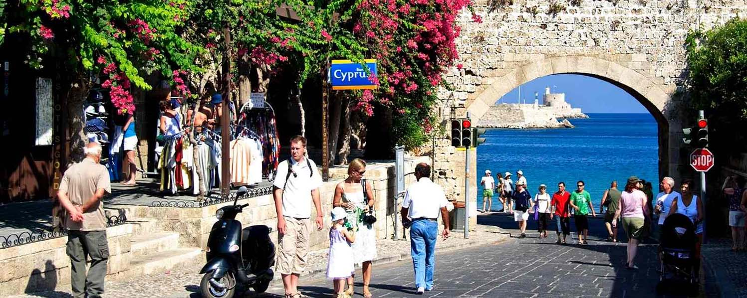 Rhodes Shore Excursion: Half day city tour