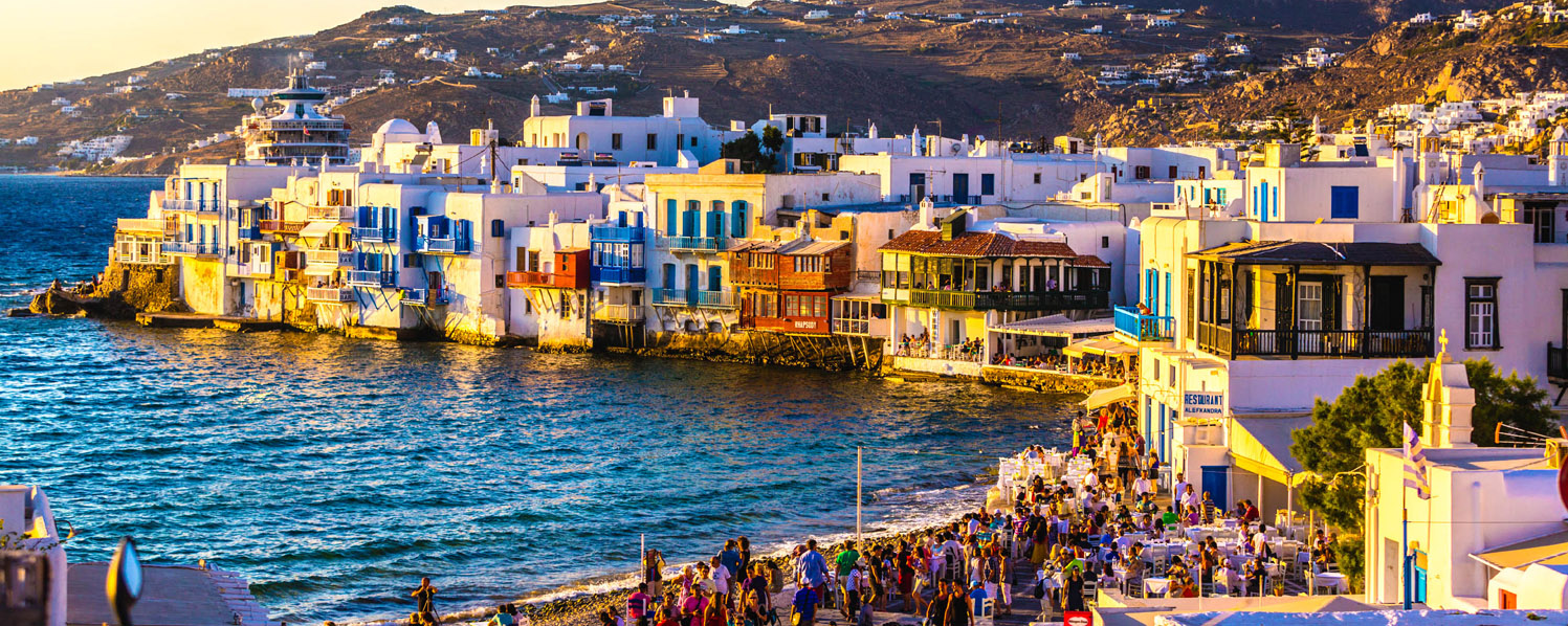 Afternoon Walking Tour of Mykonos Town