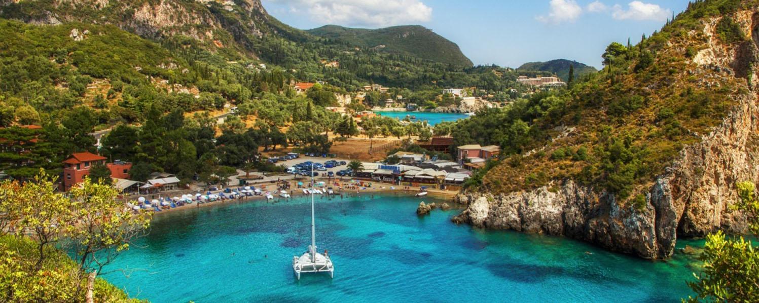 Corfu Shore Excursion: Paleokastritsa, Achilleion Palace & Corfu town
