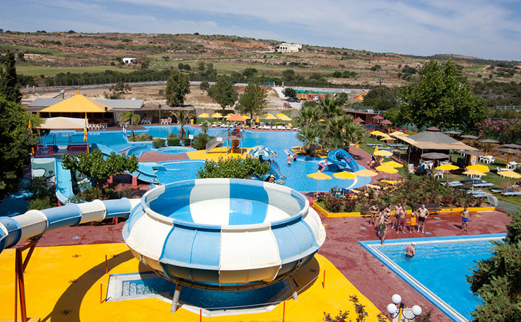 Acqua Plus Water Park Entrance Ticket from Agios Nikolaos-Elounda-Ierapetra