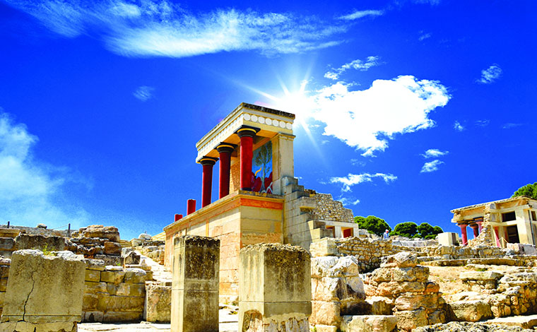 Knossos Archaeological Site - Minoan Magic from West