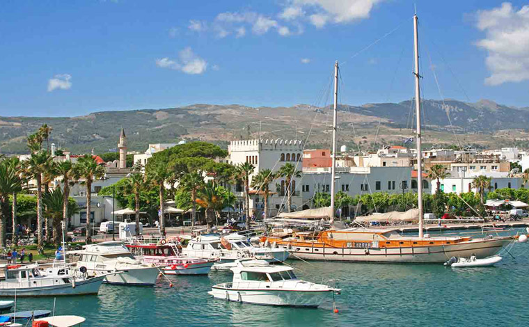 Day cruise to Kos Island from Rhodes