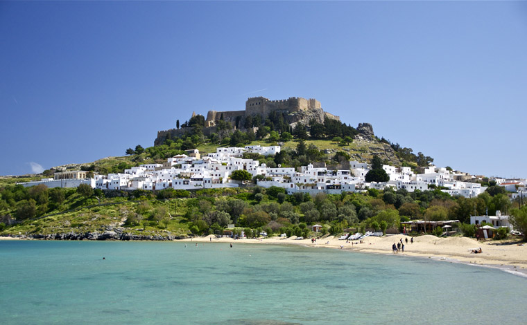 Day cruise to Lindos from Rhodes