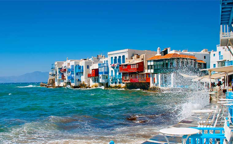 City-Walk and Island Tour of Mykonos