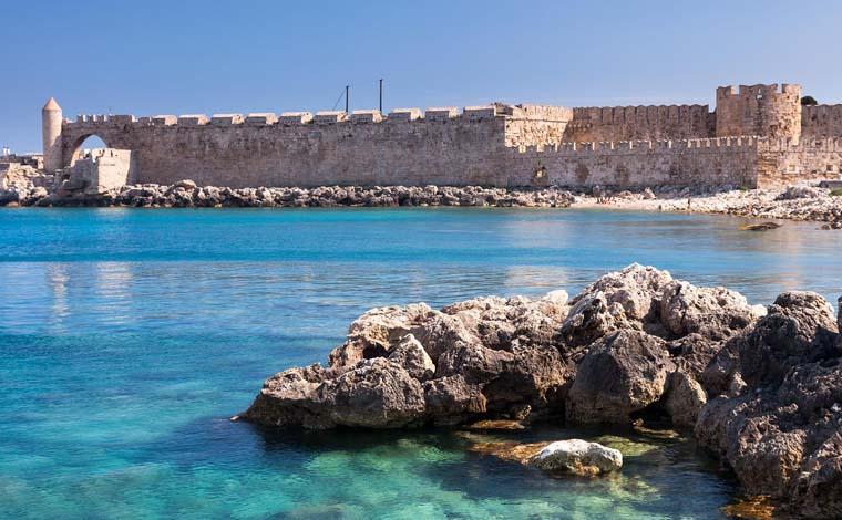 Rhodes Shore Excursion: City tour of Rhodes and Lindos