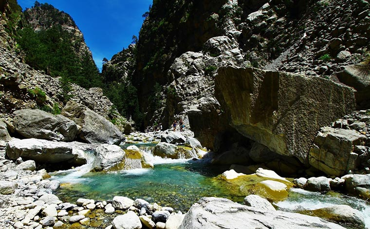 Samaria Gorge Long from Heraklion