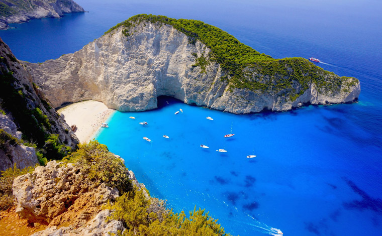 Smugglers Cove Half-day cruise from Zakynthos