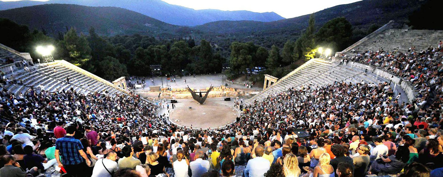 Classical Greek Play at Epidaurus Theatre