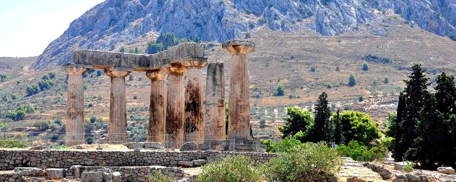 Ancient Corinth and  Daphni Monastery half day tour